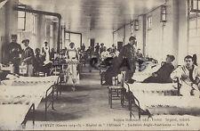 WW1Interior dell'Ospedale Ward Americana Ausiliario Ospedale Yvetot Francia