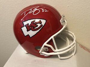 Dwayne Bowe Signed Kansas City Chiefs Full-Size Replica Football Helmet