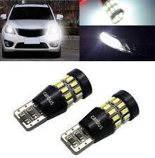 2x Canbus Error Free T10 W5W 192 168 3014 Led Backup Reverse Parking Light 6500K