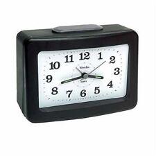 Westclox Analog Quartz 00004000  Snooze Loud Bell Black Alarm Clock 47550