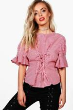 Cotton Casual Tops & Shirts for Women with Ruffle
