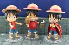 "UK Seller Anime One Piece Monkey D Luffy 4.5"" Action Figure 3-piece Figuarts"