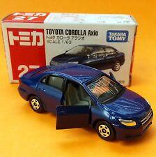 TOMICA TOYOTA COROLLA AXIO ALTIS #27 TOMY DIE CAST CAR 2006 HTF TOY
