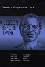 Very Good, Cambridge Wizard Student Guide A Lesson Before Dying (Cambridge Wizar
