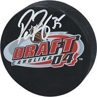 Pekka Rinne Nashville Predators Autographed 2004 NHL Draft Logo Hockey Puck