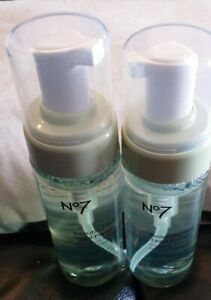 BOOTS NO.7 BEAUTIFUL SKIN FOAMING CLEANSER 150ML X2 (BRAND NEW)