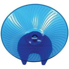 FLYING SAUCER HAMSTER, CHINCHILLA AND RAT WHEEL (BLUE 12'')