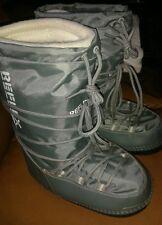 Riflesso UK 2 - 3 Donna Grigio Con Lacci Stivali da Neve imbottito