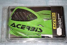 kit protèges mains ACERBIS MX UNIKO VENTED vert / noir pour guidon 22 mm neuf