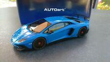 Autoart 74559 Lamborghini Aventador LP750-4 SV 1/18 Blue LeMans