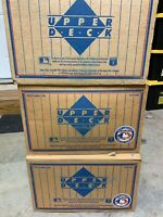 1991 Upper Deck Baseball Sealed Low Series Case of 20 Factory Boxes QTY