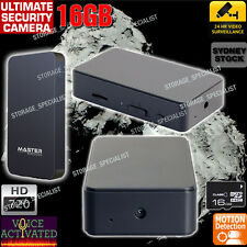 Wireless Home Security Camera Room Backup Voice Motion Activated No Spy Hidden