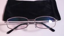 Silver Designer ComSafe Vision anti glare / Blue Light Computer Glasses