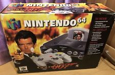 Nintendo 64 Goldeneye Console Boxed With Game Tested Working N64