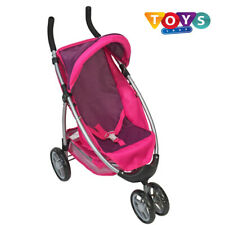 Gilrs Doll Toy Buggy Stroller Pushchair Pram interactive Learning Play Best Gift