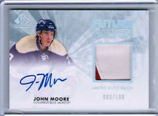 11/12 SP AUTHENTIC JOHN MOORE FUTURE WATCH LIMITED RC PATCH AUTO /100 COLUMBUS