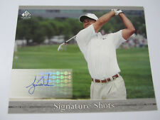 2005 SP Signature Shots #T1 Tiger Woods AUTOGRAPH UDA Full Swing 8x10 Auto SP