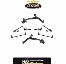 Lower Control Arms Inner and Outer Tie Rods 8Pc set for Infiniti FX35 FX45 03-08