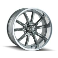 CPP Ridler 650 wheels 18x8 + 20x10 fits: CHEVY IMPALA CHEVELLE SS