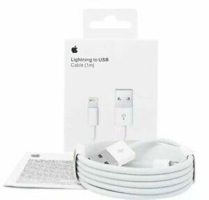 Original Apple MD818ZM/A 1m USB Lightning Ladekabel iPhone XR XS iPad Air Mini