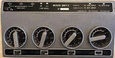 Kudelski 4-Channel BM II Mixer For The Nagra Portable Analog Recorder