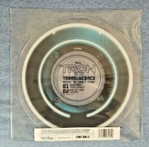 Daft Punk Tron Legacy Translucence 10 Inch Vinyl Picture Disc 2011 RSD RARE