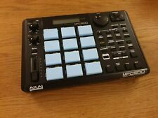 Akai MPC 500 - full upgrade: blacked out, 128 Mb memory, fat pads, new switches