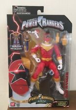 Mighty Morphin Power Rangers Legacy Zeo Red Ranger Build A Megazord New Bandai