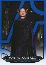 Star Wars Galactic Files Reborn Blue Parallel Base Card ROTS-6 Padme Amidala