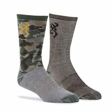 BROWNING 2 PACK OF EVERYDAY WOOL BLEND SOCKS FAST FREE USA SHIPPING