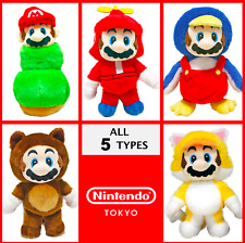 "Nintendo Tokyo Super Mario Power Up 7.9"" Plush Doll Stuffed Toy Mascot 5 Types"