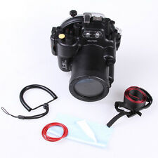 Meikon 40M Underwater Waterproof  Housing Diving Case for OMD E-M1 12-40mm lens