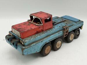 Vintage 1950s Sears SSS International Friction Turnpike Wrecker Toy Truck *READ