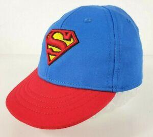 Official DC Comics Superman Baby Infant Hat 0 - 24 Mths Cap Sun Hat 100% COTTON