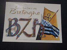 CPM Bons baisers de Bretagne BZH