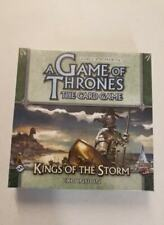 A Game of Thrones The Card Game Kings of The Storm Expansion 1st Edition Sealed