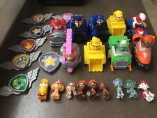 Huge lot Paw Patrol figures vehicles badges