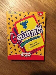 6 nimmt! Kartenspiel Amigo - neuwertig - vollständig - TOP!