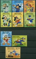 Grenada 1979 Disney Mickey Mouse Cartoons 9v MNH set Jahr des Kindes postfrisch