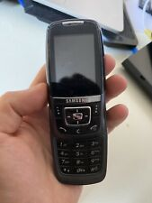 Samsung SGH D600 - Charcoal Grey Mobile Phone not working