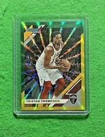 TRISTAN THOMPSON PRIZM GREEN YELLOW LAZER CAVALIERS 2019-20 DONRUSS BASKETBALL