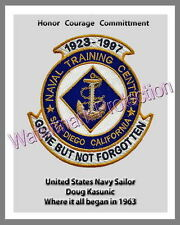 Naval Training Center San Diego Canvas Print Navy Recruit San Diego Boot Camp