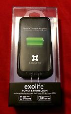 New ExoGear Protective Case with Integrated Extended Battery For iPhone 3G/3GS