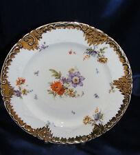 """Vintage Porcelain 11"""" Plate Victoria Carlsbad Austria Schmidt & Co"""