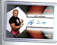 TNA Kip James Official Autograph Card 2009 Impact Gunn