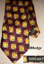COUNTRY ROAD 100% SILK TIE MADE IN ITALY - NEW NEVER USED RRP $99.95