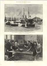 1894 Ceremony Cutting Faggotts Ancient Rent Service Lawcourts Mr Frank Lockwood