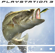 PlayStation 3 PS3 Bass Fishing Vinyl Sticker Hülle