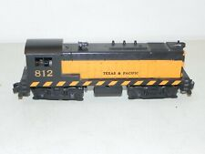 American Flyer S Gauge #812 Texas & Pacific Diesel Locomotive RUNS