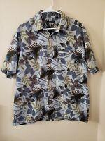 Van Heusen Men's Hawaiian Size L